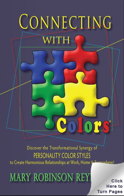 Connecting With Colors Book - read it!