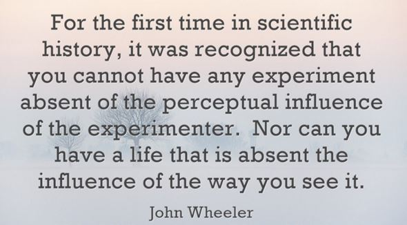 John Wheeler quote